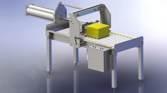 Cheese slicing equipment