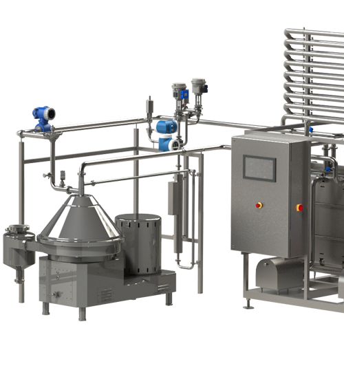 Pasteurization and cooling Unit